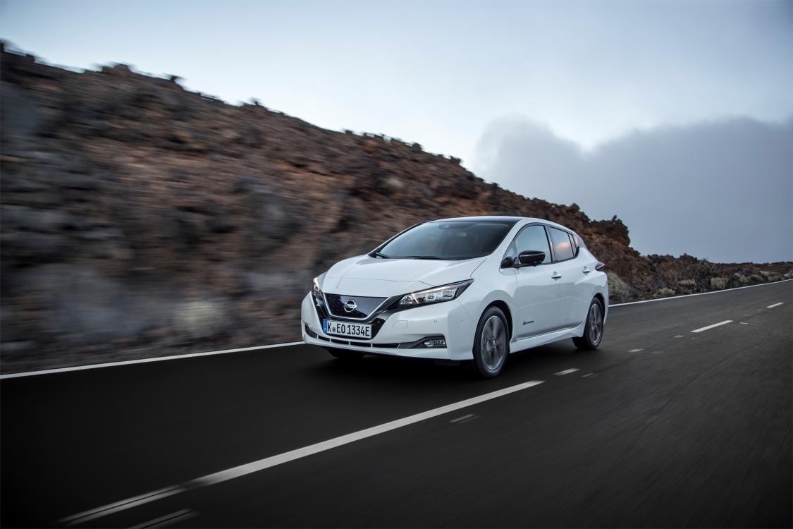 Proovisõit - Nissan Leaf