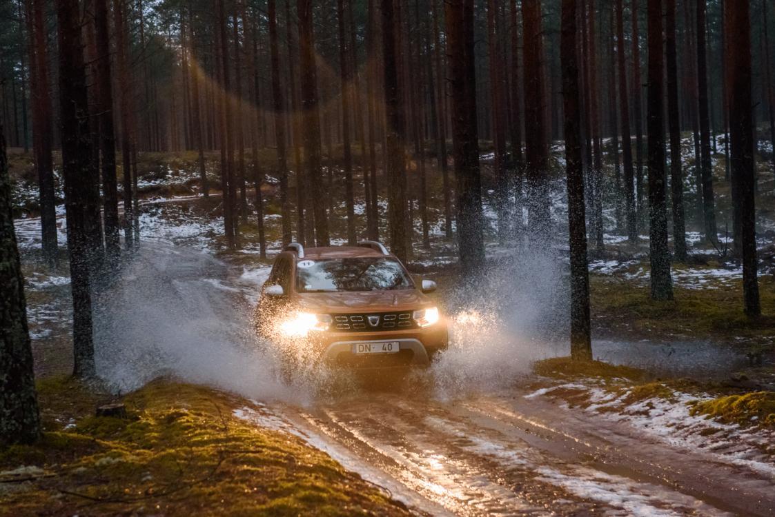 Proovisõit - Dacia Duster