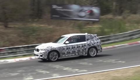 Video: BMW X3 M ringrajal