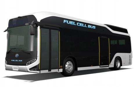 Toyota hakkas vesinikbusse tootma