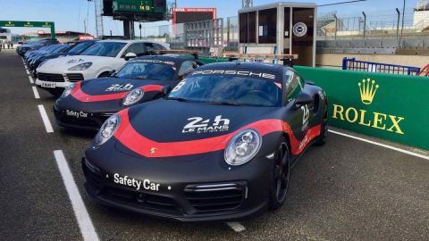 Video: Le Mansi kestvussõidul tagavad turvalisust Porsched