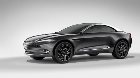 Aston Martin ehitab linnamaasturi hiinlaste survel