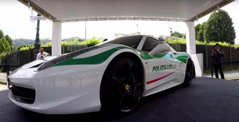 Video: endise maffiabossi Ferrari on nüüd politsei käsutuses