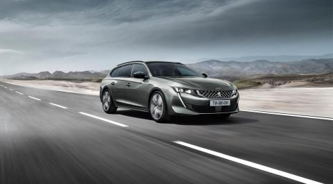 Peugeot avalikustas uue 508 SW