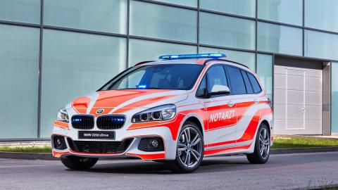 Fotod: BMW kiirabi- ja päästeautod