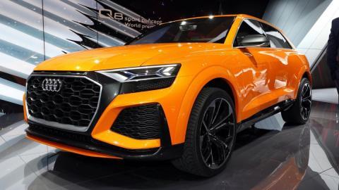 Audi Q8 paljastatakse täna pärastlõunal