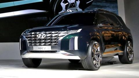 Fotod: Hyundai Grandmaster ideeautost võib sirguda suur linnamaastur