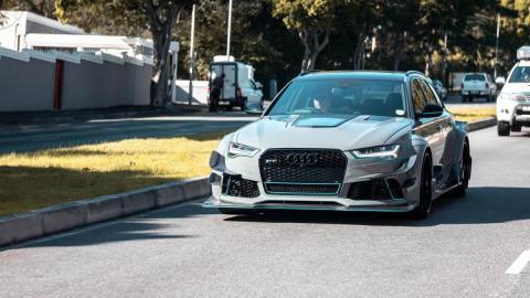 Video: süsinikkiust kerega Audi RS6 Avant