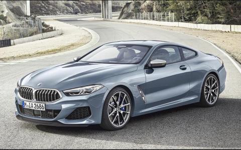 BMW 8. seeria tuleb Euroopasse 320-hobujõulise diiselmootoriga